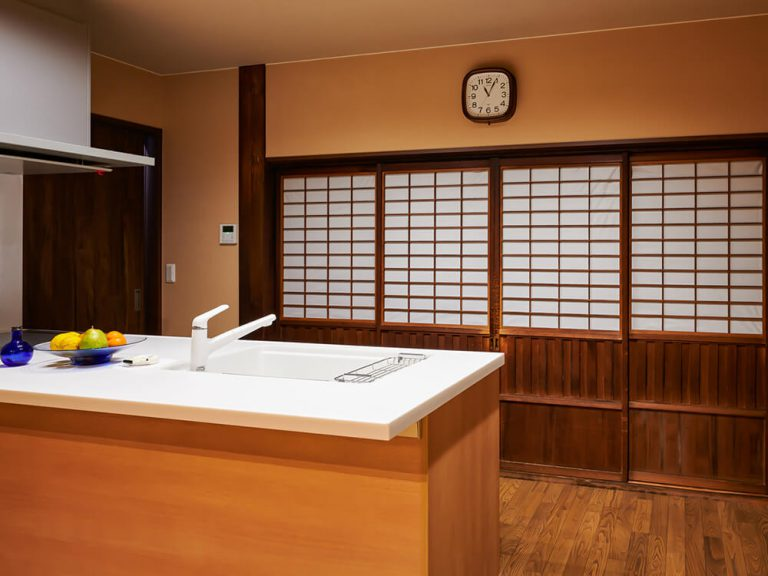 古民家リノベーション、リノベーション、リフォーム、奈良、旧家、ならまち、キッチン