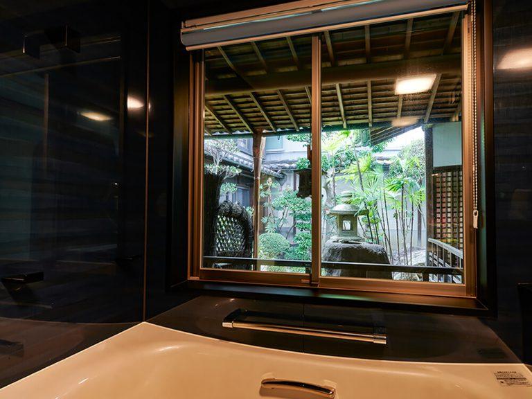 古民家リノベーション、リノベーション、リフォーム、奈良、旧家、ならまち、浴室
